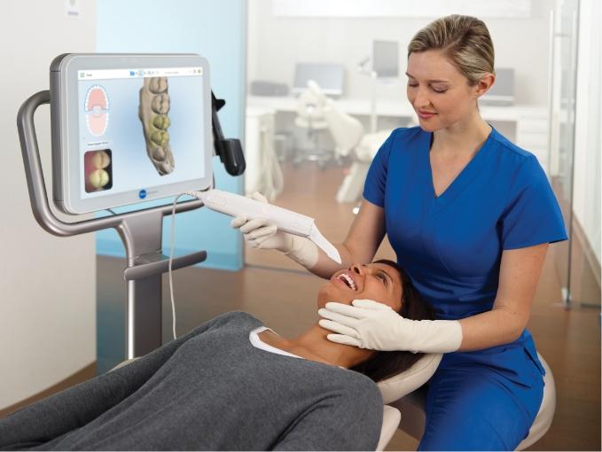 scanner för tandreglering