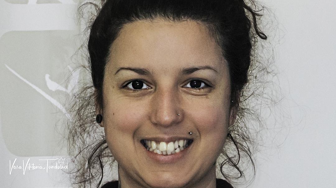 bild före behandling av tandreglering
